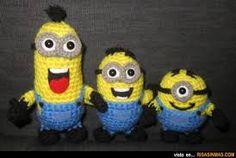 Bildergebnis für minion crochet