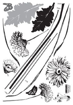 Ink Sketched Flower and Butterfly Wall Decal Instantly brighten your home, workplace, dorm, or store. Decorate interior walls or windows of home, bathroom, office, dorm, or store. Apply to furniture (refrigerator, table, desk, kitchen cabinets, drawers, etc). Easy to apply, remove, reposition, and reuse without leaving damage or residue. Ideal for dry, clean, and smooth surfaces.  #Hyundae_Sheet #Home