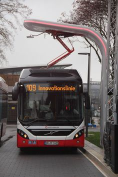 The Volvo 7900 Electric Hybrid bus                              …