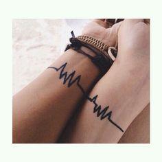 Battement de coeur. Tatouage#6