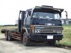 old ISUZU truck