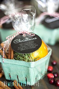 Stovetop Scents Get creative with these easy ideas homemade Christmas gifts that anyone would love. Choose from gifts to pull together in a basket or whip up yourself. Christmas Scents, Homemade Christmas Gifts, Homemade Gifts, Craft Gifts, Holiday Fun, Holiday Gifts, Christmas Holidays, Christmas Crafts, Christmas Decorations