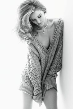 The Rosie Effect – Model turned actress Rosie Huntington-Whiteley turns up the va-va-voom for Vogue Germany's November cover shoot shot by Alexi Lubomirski. Donning a sexy wardrobe of trenches and knits from Burberry Prorsum, Rosie revels in the lightweight outerwear and little else.