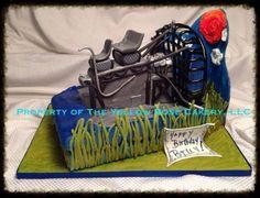 Airboat Birthday Cake cakepins.com