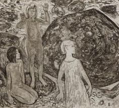 Lapsed mere ääres, Vive Tolli E-kunstisalongis Graphic Prints, Painting, Art, Art Background, Painting Art, Kunst, Paintings, Performing Arts, Painted Canvas