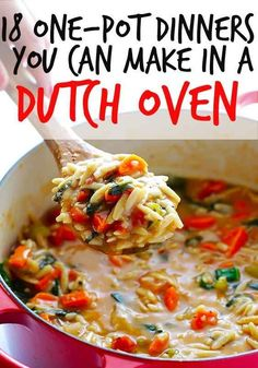 18 One-Pot Dinners Y