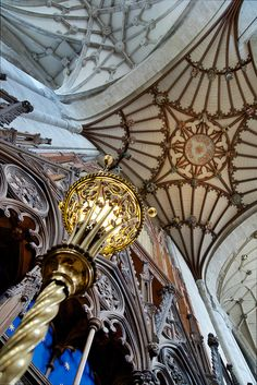 Let there be light by The Green Album, via Flickr, Winchester Cathedral, UK