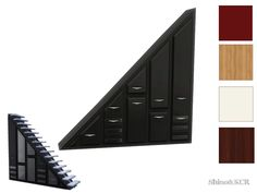 ShinoKCR's Under The Stairs - Dresser Wall Size 2 Eboni