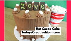 Hot Cocoa Cake at To