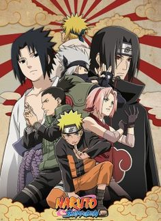 Poster Naruto Shippuden Group 2 - Abystyle