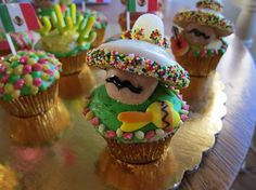 mexican birthday cupcake | August 23rd, 2010 // Posted by Dan in Blog , Inspiration