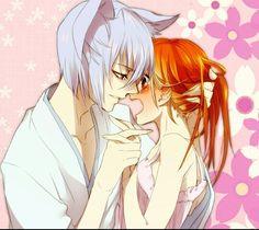 Why are you blushing, Nanami?!