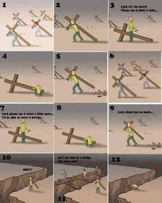 Jesus waits for You We start our life journey with Jesus. We get attracted to the 'FUN' of this world We say to Jesus: I wil. Christian Cartoons, Christian Memes, Christian Life, Bible Verses Quotes, Faith Quotes, Scriptures, Jesus Cartoon, Bibel Journal, God Jesus