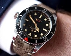 Closer... - The Ref 216A Red Depth Submariner. The only modern Rolex with a true gilt dial, coin edge bezel, lug holes, and more. This Handcrafted Timepiece is exclusive to Tempus Machina. Order yours at tempus-machina.com - #tempusmachina #216A #customwatch #details #gq #style #rolex #handcrafted #vintagestyle #watchporn #bigcrown #leica #family #wristporn #suitup #icon #leicaq #wrongwrist #weekend #cool #musthave #gilt #menstyle #design #iconic #rolexwatch #limitededition #legend