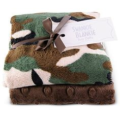 Camouflage Burp Cloth from Borsheims for $24.