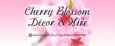 Cherry Blossom Decor & Hire. All your wedding and gift needs.