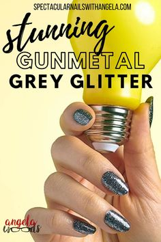 If you need easy nail design inspiration for your next manicure, indulge in the stunning gunmetal grey of Mind Matters, a fabulous multicolored glitter on dark grey. Color Street instantly graduates your nail art from basic to brilliant in minutes. Achieve this unique look in less than 15 minutes. This fabulous nail art design will give your nails the trendy look you've been looking for. Shop now and get salon perfect nails at home with Color Street! #designernails #easynaildesign Fabulous Nails, Perfect Nails, Simple Nail Designs, Nail Art Designs, Nails At Home, Color Street, Simple Nails, You Nailed It, Dark Grey