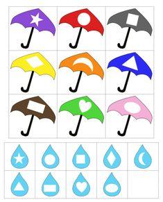 Ideas To Spring Theme Preschool, You Must Know April Preschool, Preschool Weather, Preschool Lessons, Preschool Worksheets, Preschool Classroom, In Kindergarten, Preschool Activities, Preschool Shapes, Shape Activities