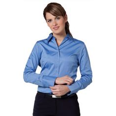 8e74dfaba4e Womens Modern Designed Long Sleeve Shirt Min 25 - Clothing - Business  Shirts - Her Business Wear - WS-M80021 - Best Value Promotional items  including ...