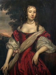 Princess Henrietta Anne of England youngest child of King Charles I  By Jan Mytens - 1665
