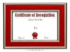 Free certificate of recognition template Certificate Of Recognition Template, Free Printable Certificates, Award Certificates, Certificate Templates, Free Printables, Awards, Patio, Silver, Free Printable