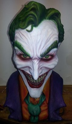 J by XenoEngine on DeviantArt Anthony Misiano, Oil Based Clay, Marvel Avengers Movies, Joker Pics, The Last Laugh, Nerd Crafts, Batman, Lovely Smile, Perfect Timing