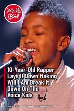 The Voice Kids UK blind auditions had a whole new level of talent to contend with after the high-energy small-statured Lil T stepped onto the stage. His rendition of 'Shutdown' sure shutdown the competition. With Will.I.Am firmly on his side, and superior style clearly taking no effort - Lil T was off to a great start. #LilT #TheVoiceKidsUK #Music #Singing #Songs #TVShow #TheVoice #TheVoiceKids 10 Year Old, 10 Years, The Voice Of Holland, Nbc Tv, Lilt, Talent Show, Kelly Clarkson, John Legend, High Energy