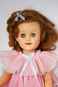 Ideal doll Shirley Temple doll 15 doll vintage doll by BBsxx2, $94.00