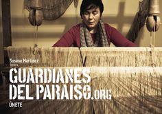"""Anuncio de campaña Teaser """"Guardianes del Paraíso"""". Susana Martínez, tejedora  #etnografia #cultura #ParaísoNatural"""