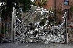 The Dragon Gate, located in Dublin Ireland.
