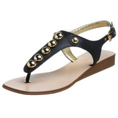 Anne Klein New York Women's Palisa Thong Wow Deals, Studded Sandals, Cool Things To Buy, Stuff To Buy, Shoes Sandals, Top Shoes, Anne Klein, Nine West, Zara