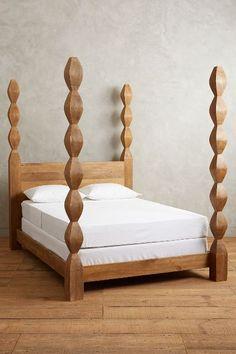 Handcarved Ribbon Bed - anthropologie.com
