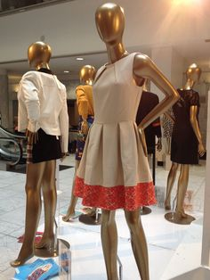 I like the colored lace along the hem of the dress