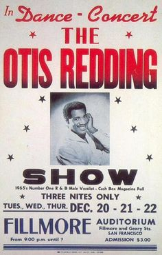 "for ""Number One R&B Male Vocalist"" - Otis Redding Rock Posters, Band Posters, Norman Rockwell, Rock N Roll, Vintage Concert Posters, Otis Redding, Jazz Poster, Soul Artists, 60s Music"