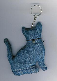 Kitty keyring