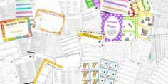 Twinkl Resources >> Class Management Teacher Folder Complete Resource Pack >> Printable resources for Primary, EYFS, and SEN. Thousands of classroom displays and teaching aids! Organization And Management, Class Management, Classroom Management, Autism Teaching, Teaching Aids, Classroom Organisation, Classroom Displays, Year 1 Classroom, Classroom Ideas