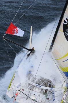 Vendée Globe 12 Nov 2012. Solo non stop sailrace around the world.