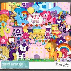Pony Girls by Pati Araujo