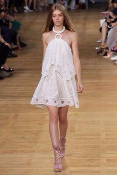 Chloe - white embroidery
