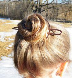 hair clip hair stick Women hair accessories by ElizabellaDesign