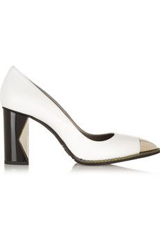 Karl Lagerfeld Leather pumps | THE OUTNET