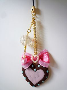 Etsy listing at https://www.etsy.com/listing/112749048/cute-cookie-phone-charm-phone-strap-or
