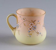 Mt Washington Delicate Decorated Punch Cup