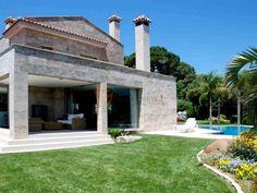 Casa en Sant Andreu de Llavaneres. De diseño original y único Allí en el mismo… Pergola, Outdoor Structures, Home, Waterfalls, Urban, The Originals, Outdoor Pergola