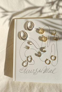 Wild Poppy Goods vintage hoop earrings