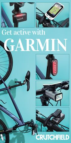 Garmin cycling computers and safety products. Track all your data and keep yourself safe on the roads.