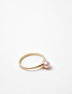 Quarry pink pearl CT ring
