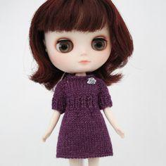 (6) Name: 'Knitting : Bernice Dress for Middie Blythe