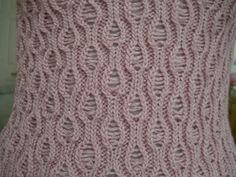 Drop Stitch lace