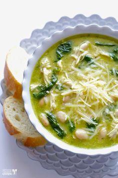 Recipe: 5 Ingredient Pesto Chicken Soup